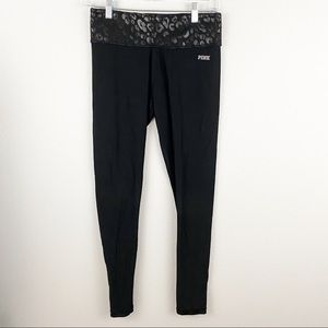 Victoria's Secret Pink • Black Reversible Pants